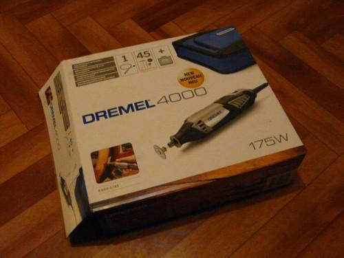 Общий вид упаковки Dremel 4000
