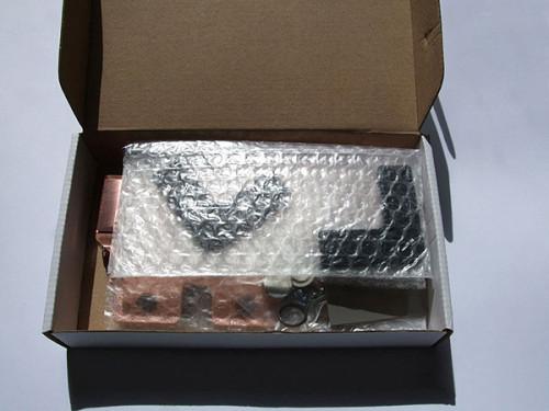 Открытая упаковка ватерблока EK-FC4870X2