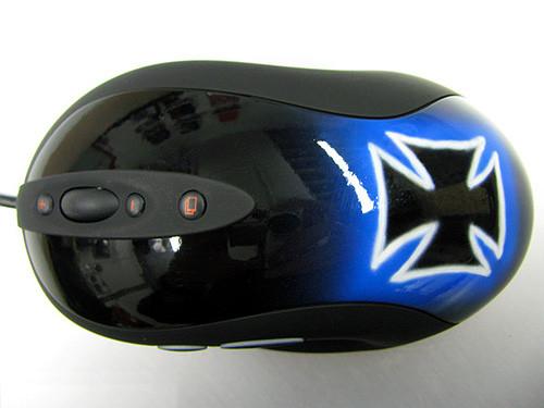 Мышка Logitech MX518 получилась очень индивидуализированной благодаря моддингу
