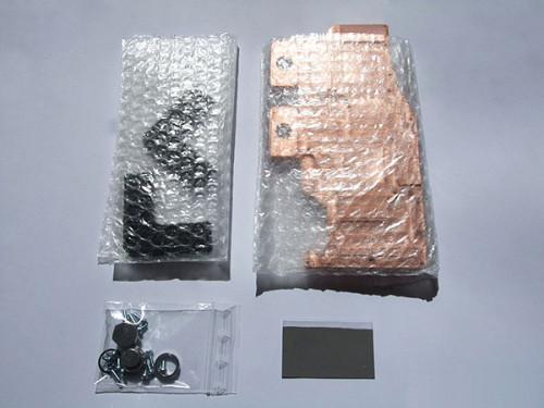 Комплект поставки ватерблока EK-FC4870X2 вне коробки