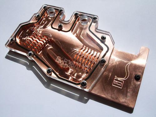 Общий вид фулкавер-водоблока EK-FC4870X2