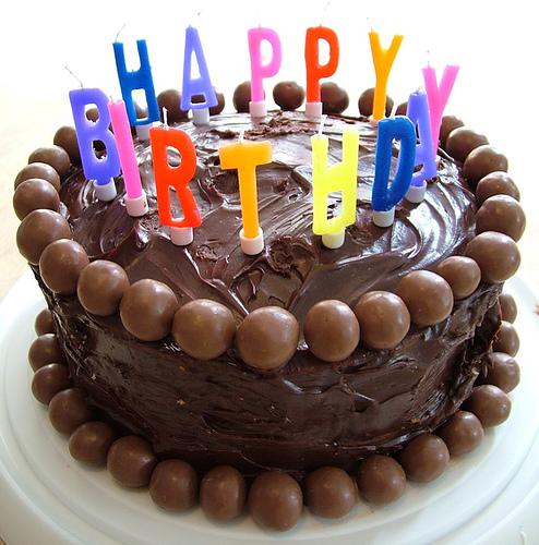 Откушайте немного праздничного торта за день рождение нашего сайта