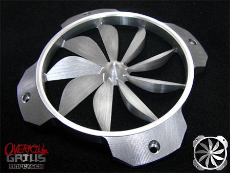 Алюминиевая решетка OverKill Turbine