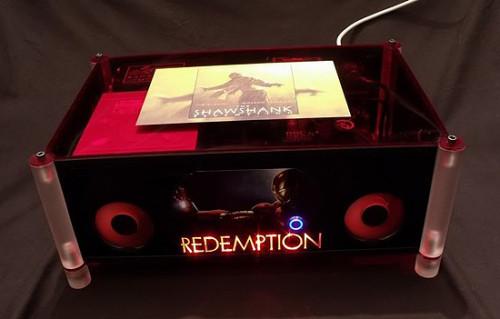 Вид спереди на моддинг проект Redemption