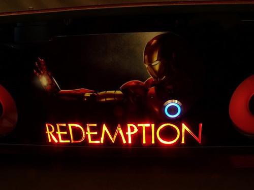Передняя панель проекта Redemption