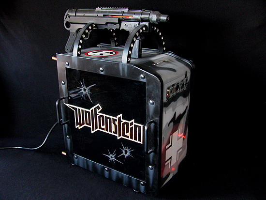 Общий вид моддинг проекта Panzerbox от моддинг студии MNPCtech