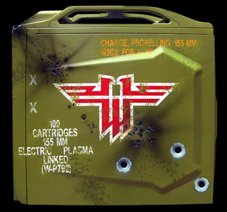 Базовый вид в три четверти моддинг проектов Wolfenstein PC. Cooler Master Storm Scout отлично подошел на роль моддинг проекта.